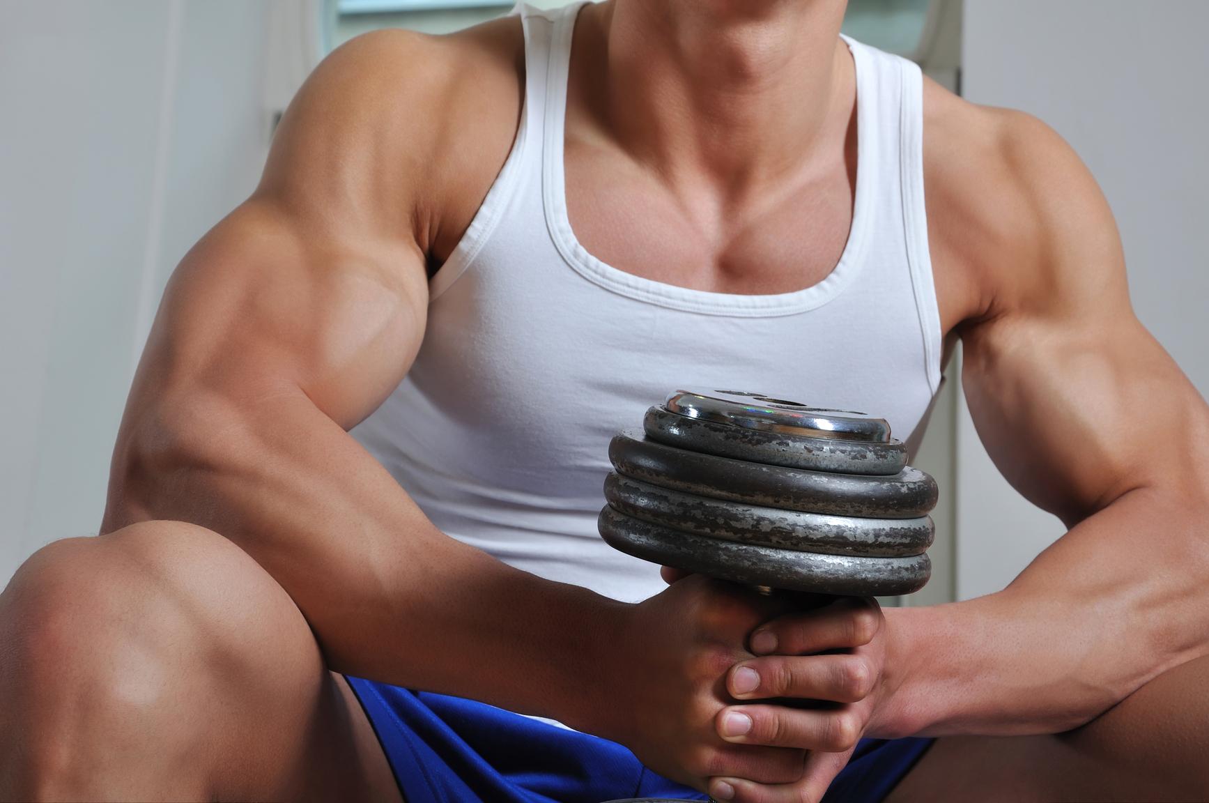 Как сделать мышцы подростку